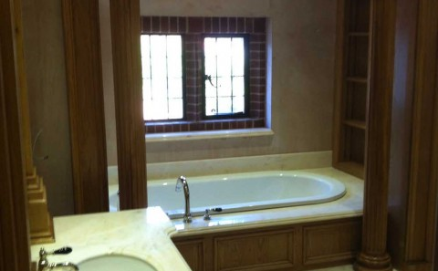 Bathroom In Marble Sutton Coldfield