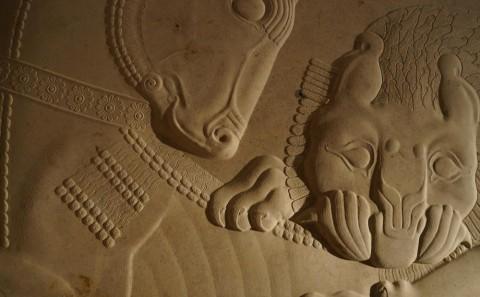 persepolis carving