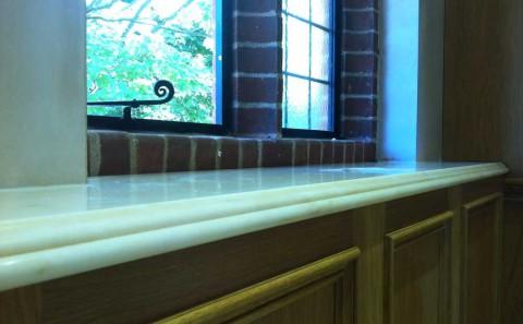 Custom profile marble sil