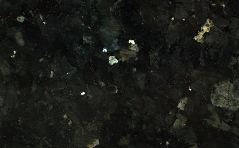 Emerald Pearl granite close-up