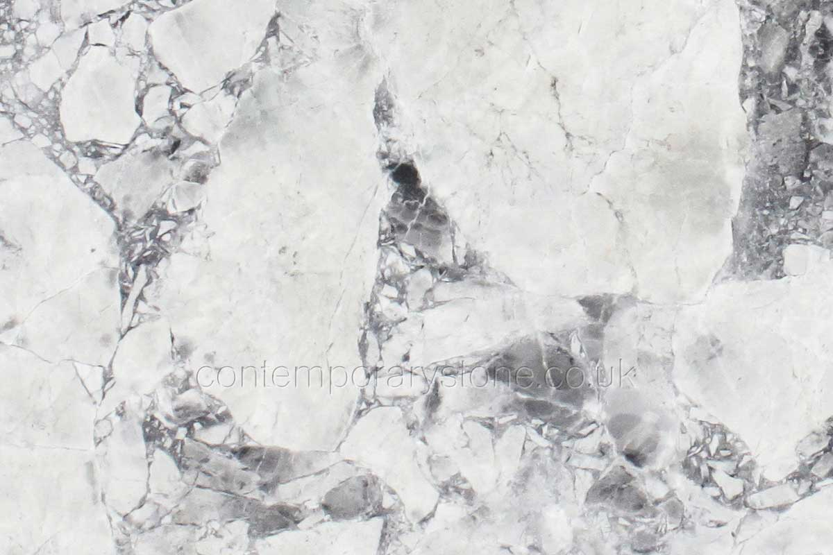 white fantasy quartzite close-up
