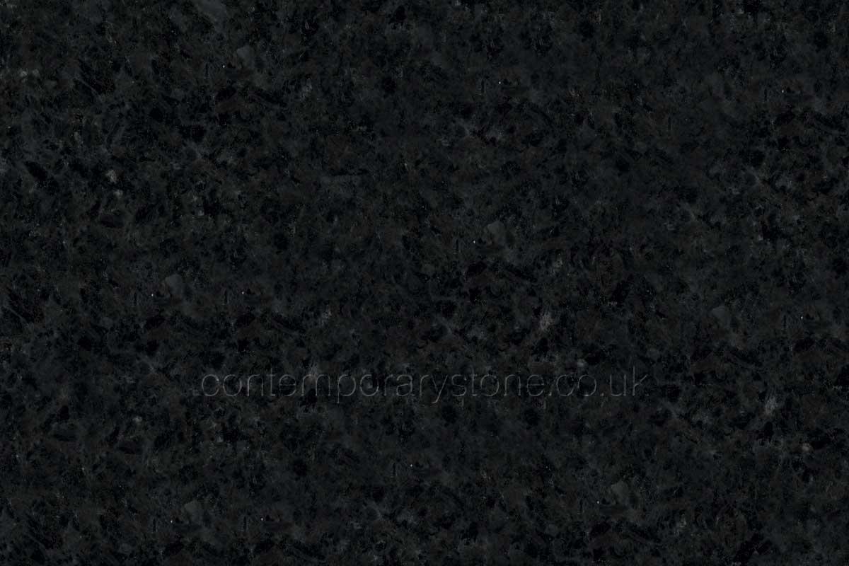 angola black granite close-up