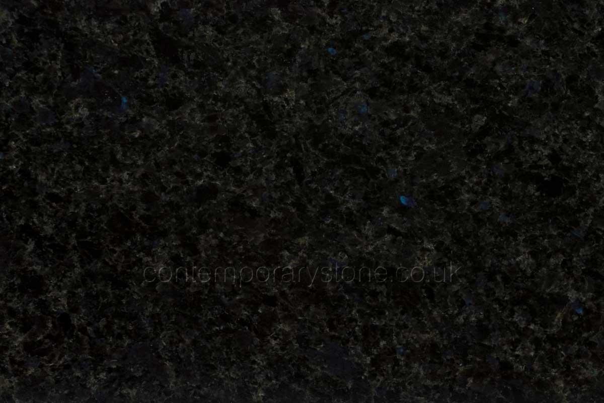 angola blue granite close-up