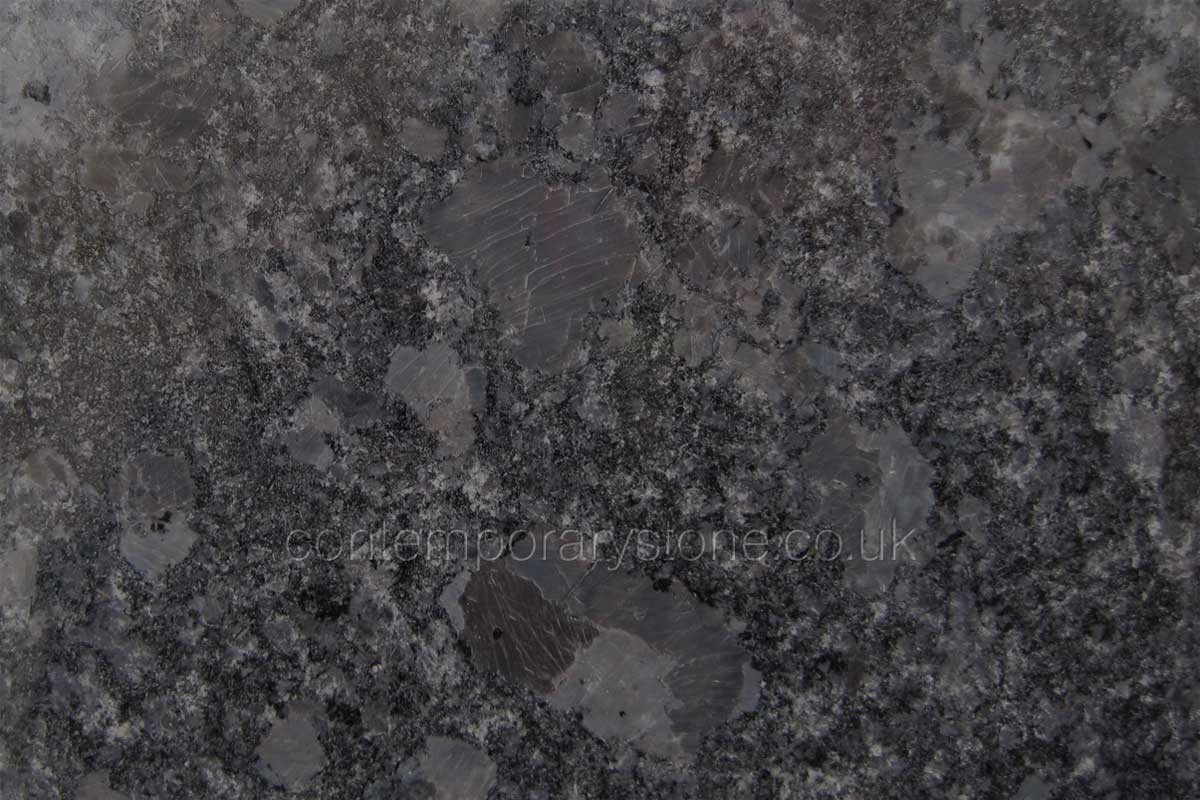 steel grey granite close-up