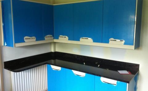 Flash blue granite worktop leamington spa