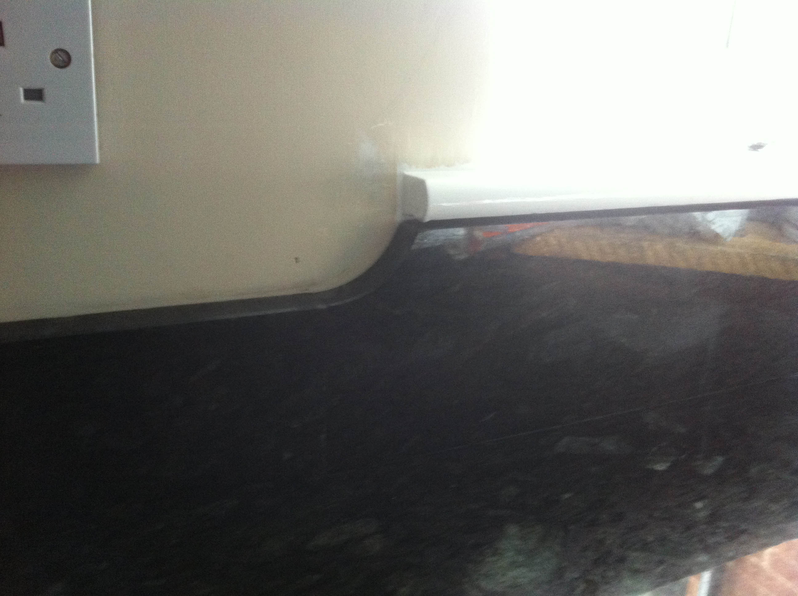 flash blue granite worktop leamington spa upstand detail