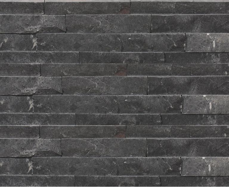 Bluestone limestone strips in situ