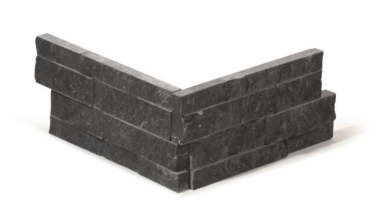 Bluestone limestone corner pieces