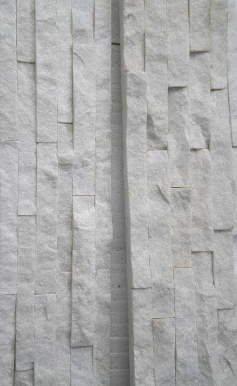 white quarz in situ stoneskin