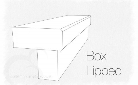 box lipped edge profile