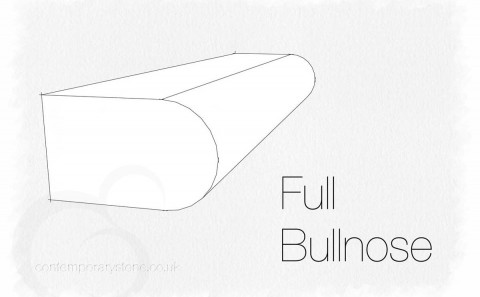 bullnose edge profile