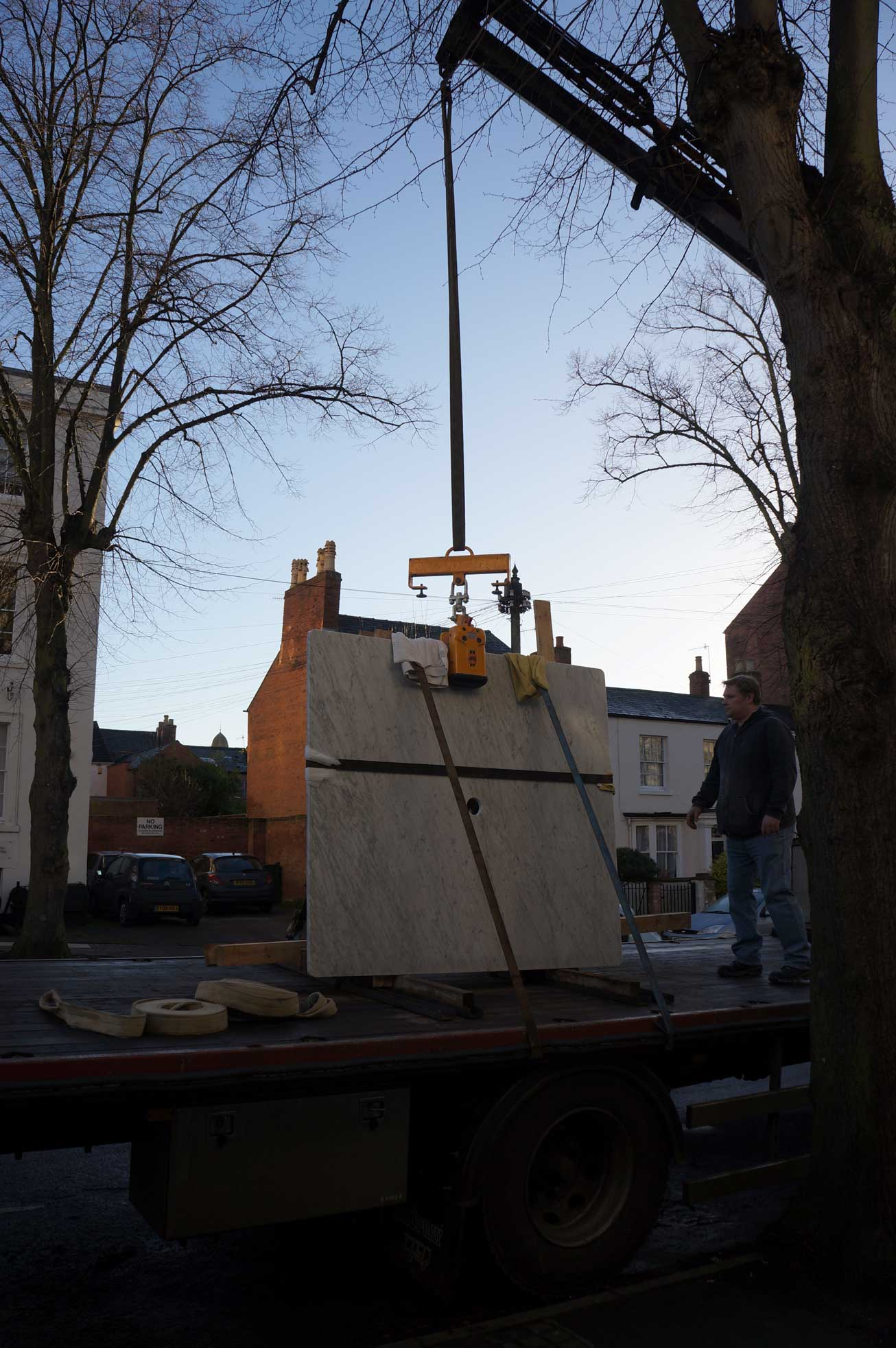 carrara marble island leamington spa crane