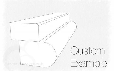 custom edge profile