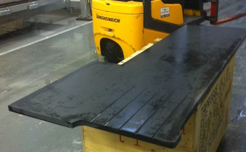 indian jet black granite processing