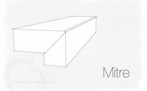 mitre edge profile