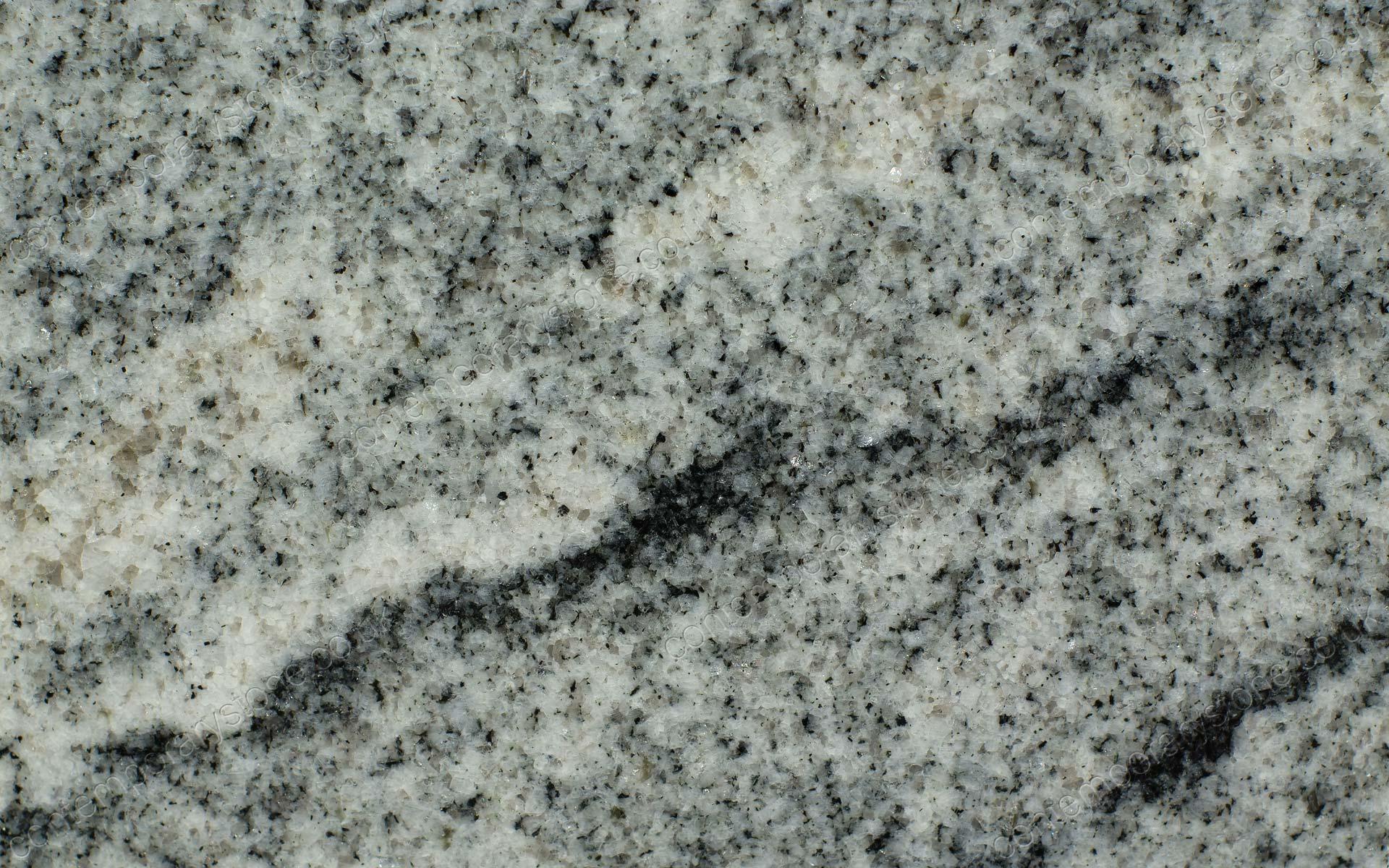 Viscount white granite close-up