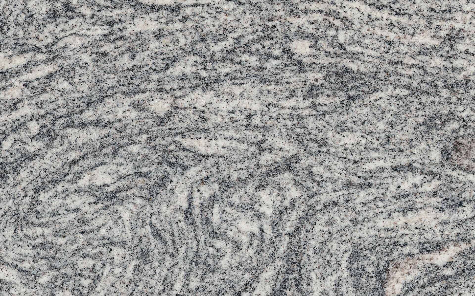 silver cloud granite close-up
