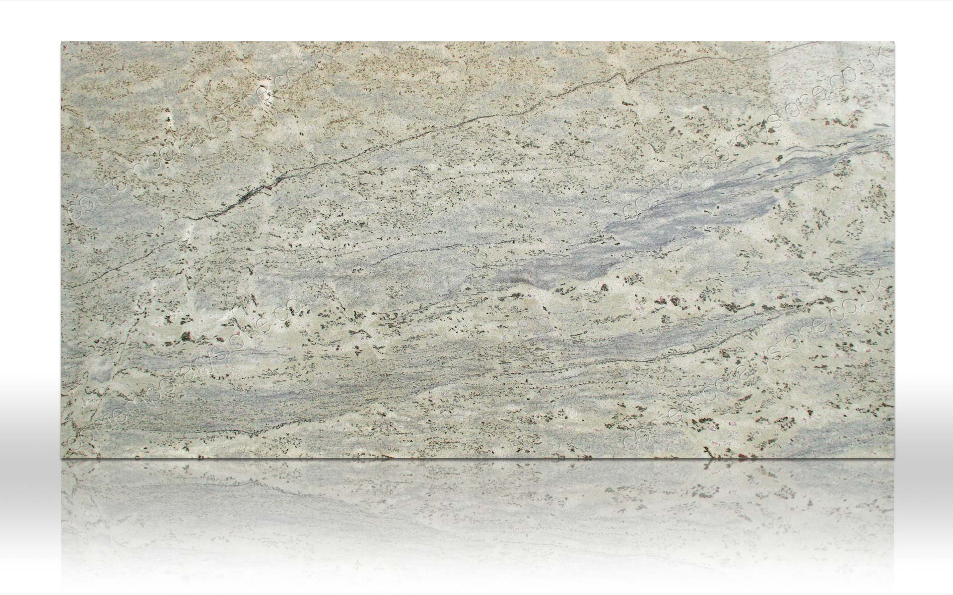 verde eucalyptus granite slab