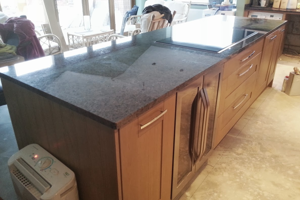 labrador antique granite worktop