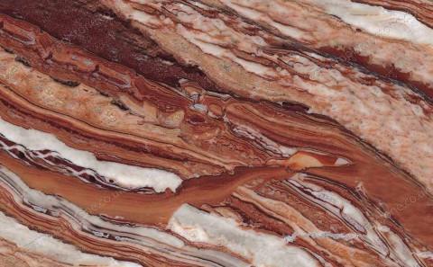 Arabescato Orobico Rosso marble close-up