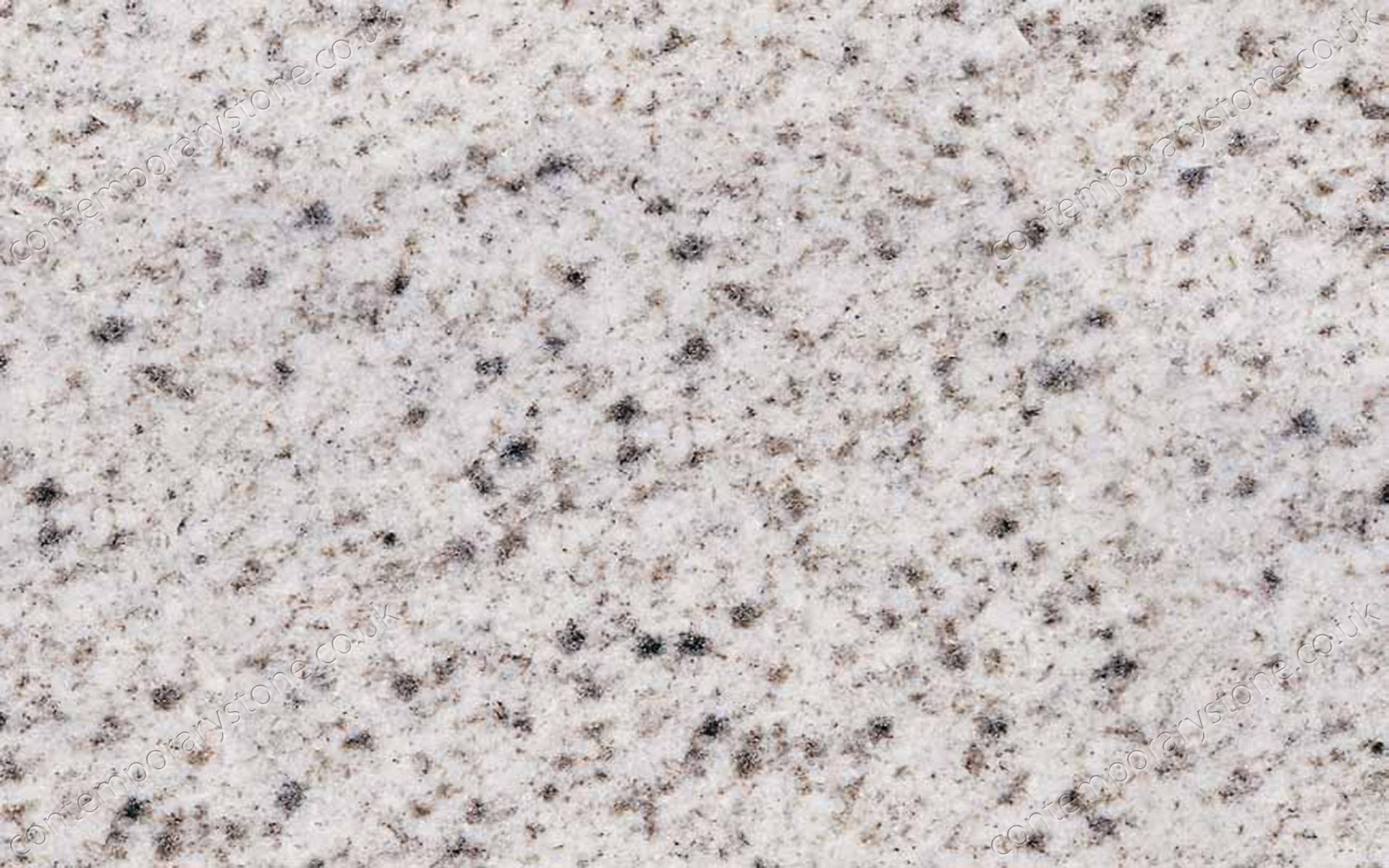 Bethel White granite close-up
