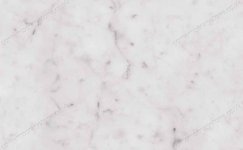 Bianco Carrara C marble close-up