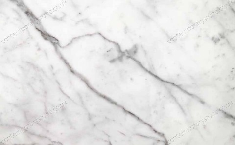 Bianco Pencilvein marble close-up
