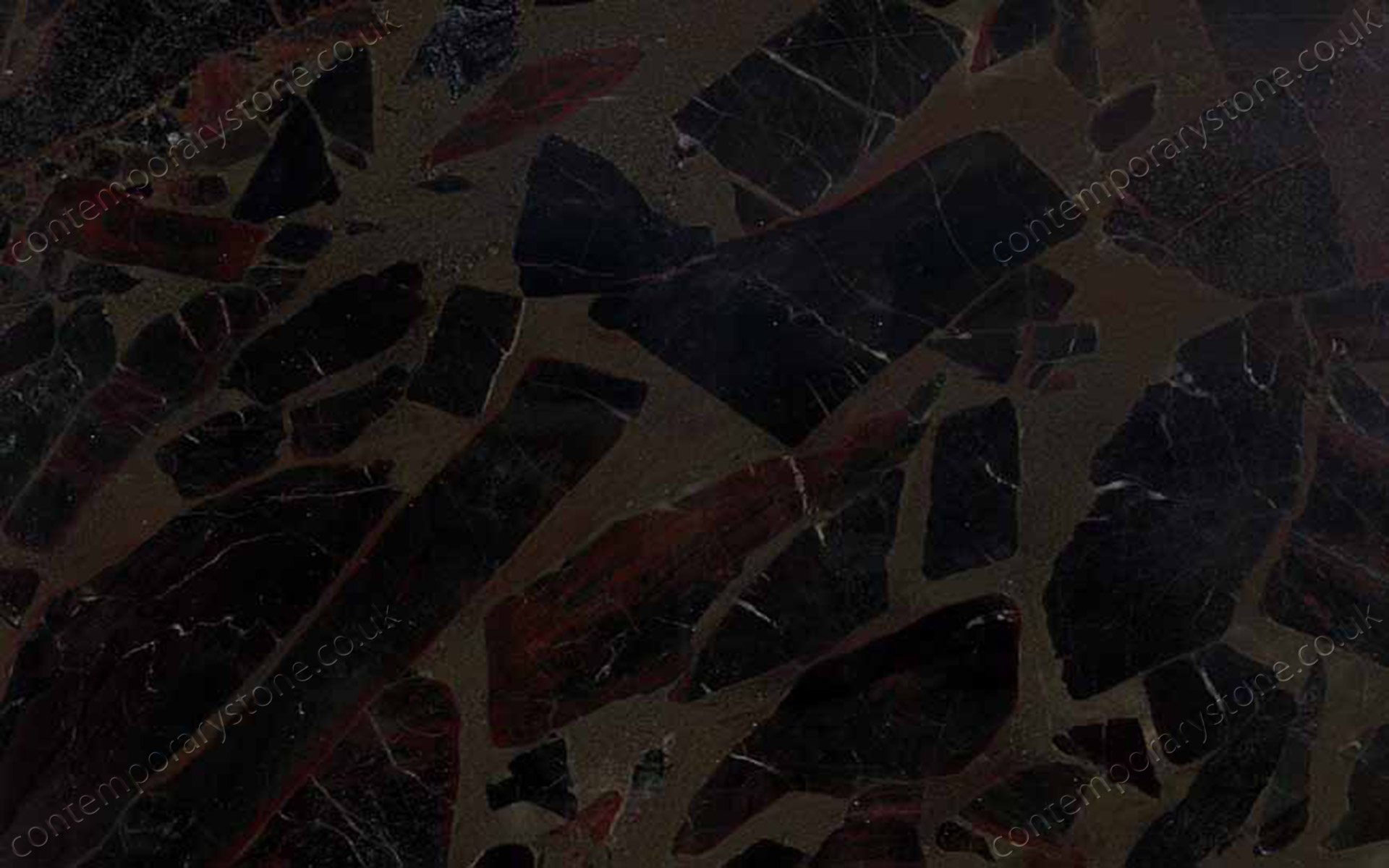 Black Beauty granite close-up