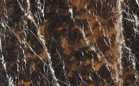 Black & Gold marble close-up