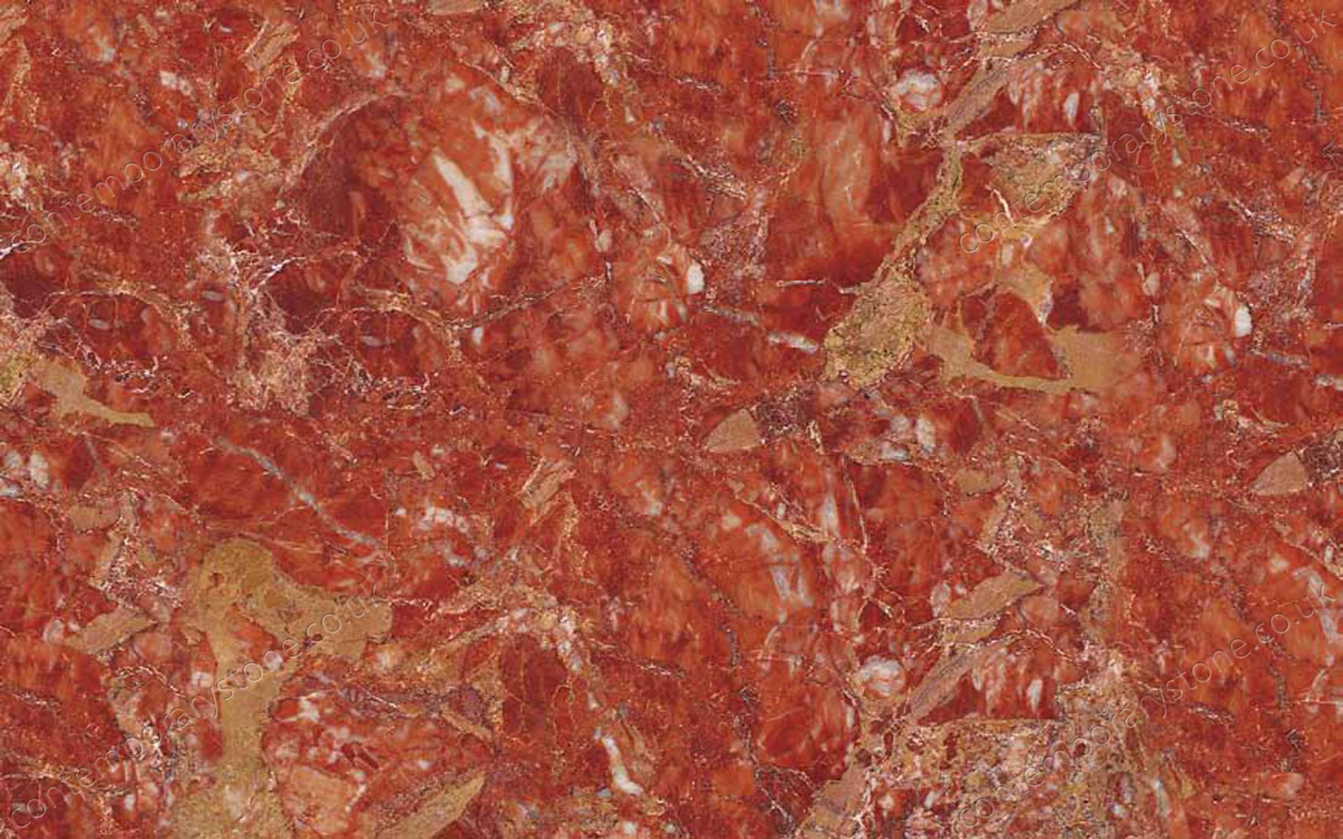 Breccia Pernice marble close-up