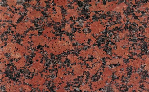 Carmen Red granite close-up