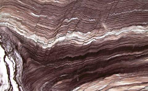 Cipollino Ondulato Rosso marble close-up