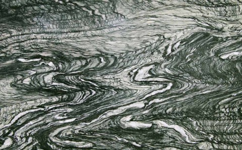 Cipollino Ondulato Verde marble close-up