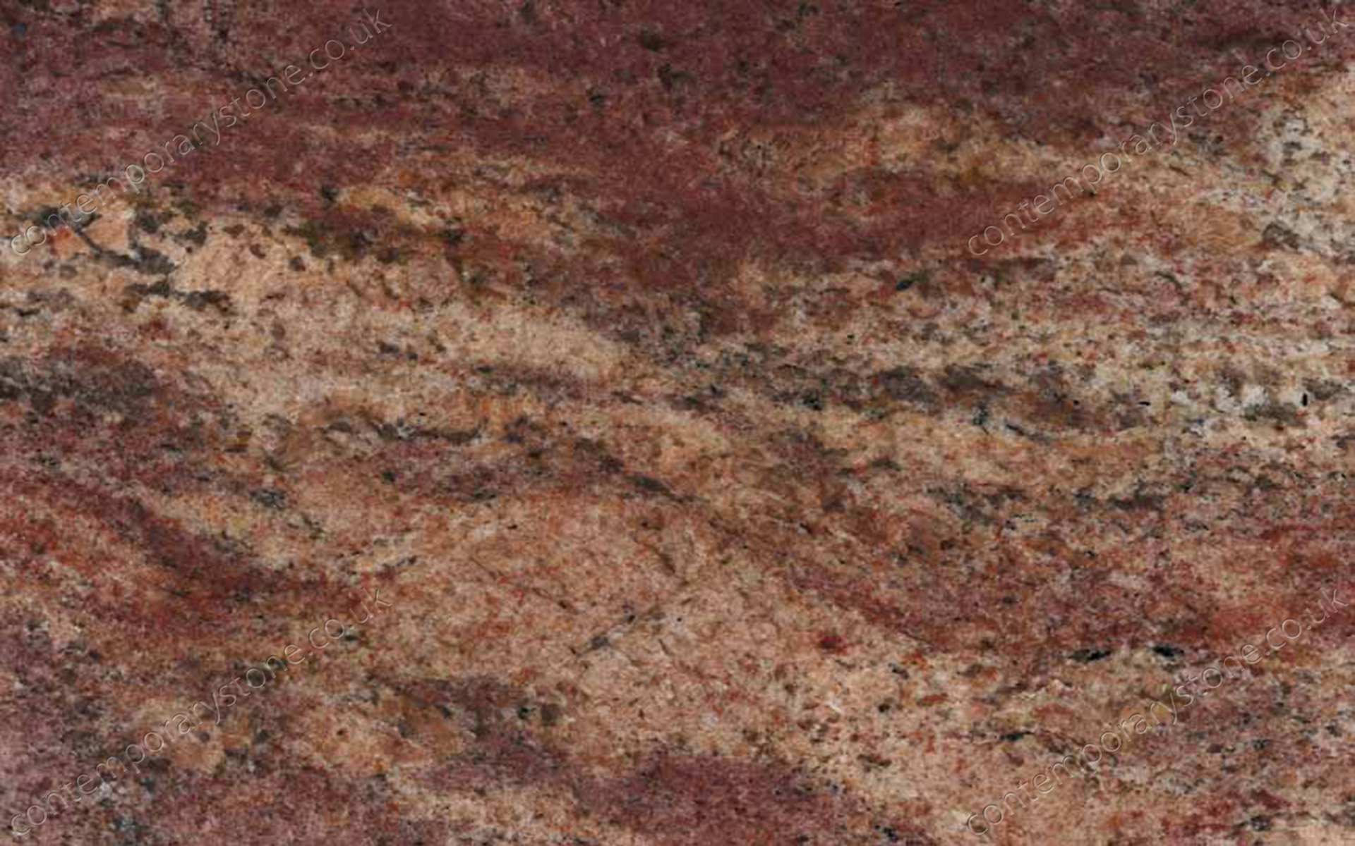 Crema Bordeaux granite close-up
