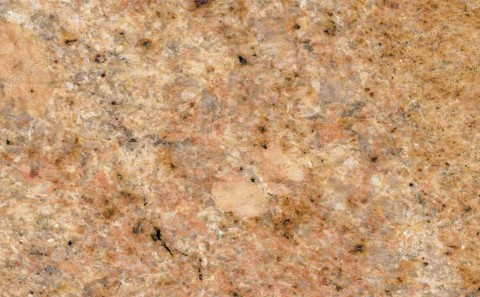 Golden Oak granite close-up