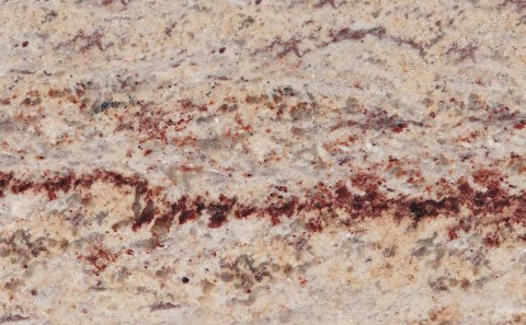 Ivory Brown granite close-up