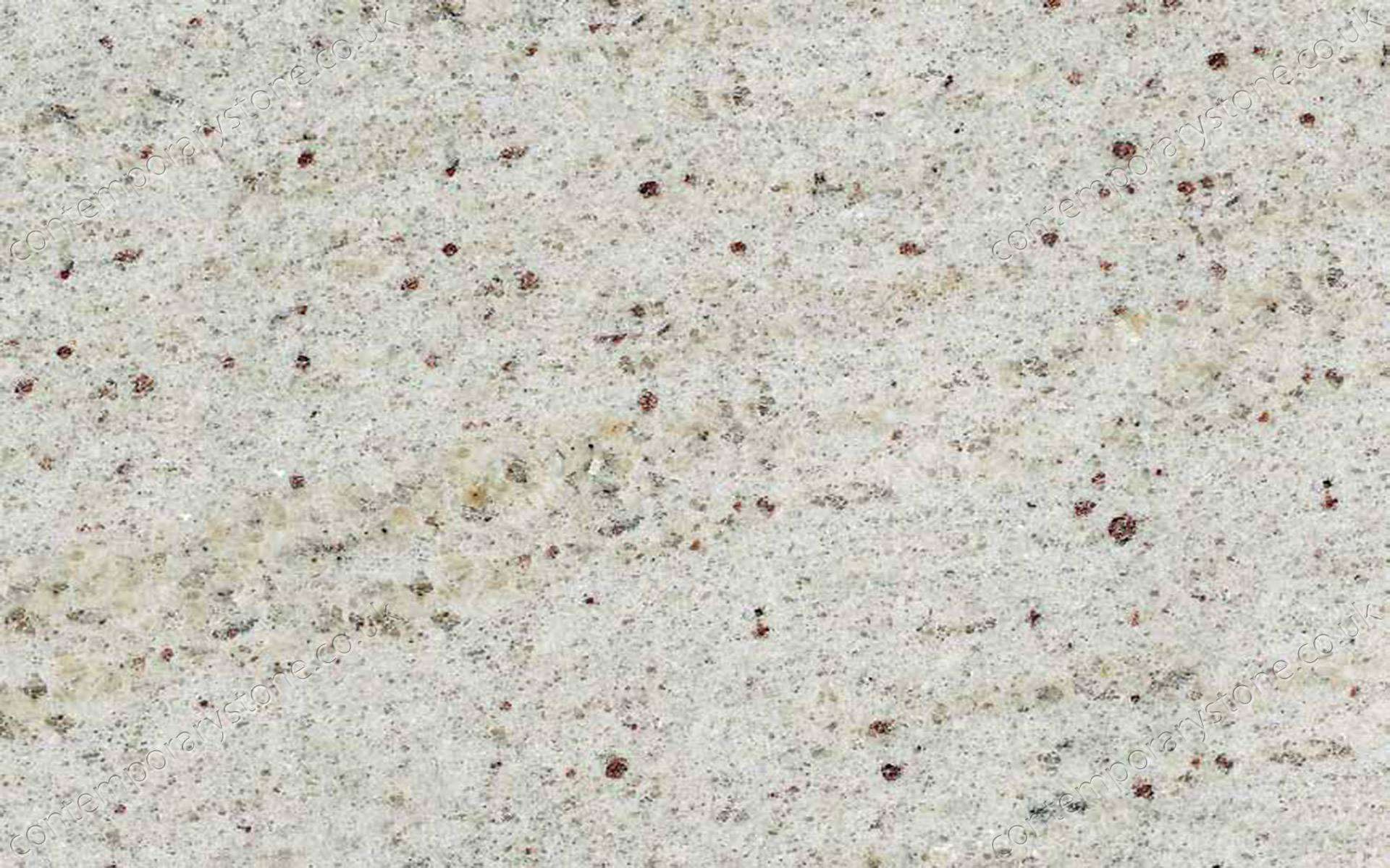 Kashmir White granite close-up