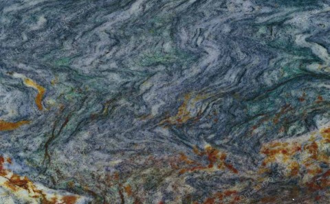 Louise Blue granite close-up