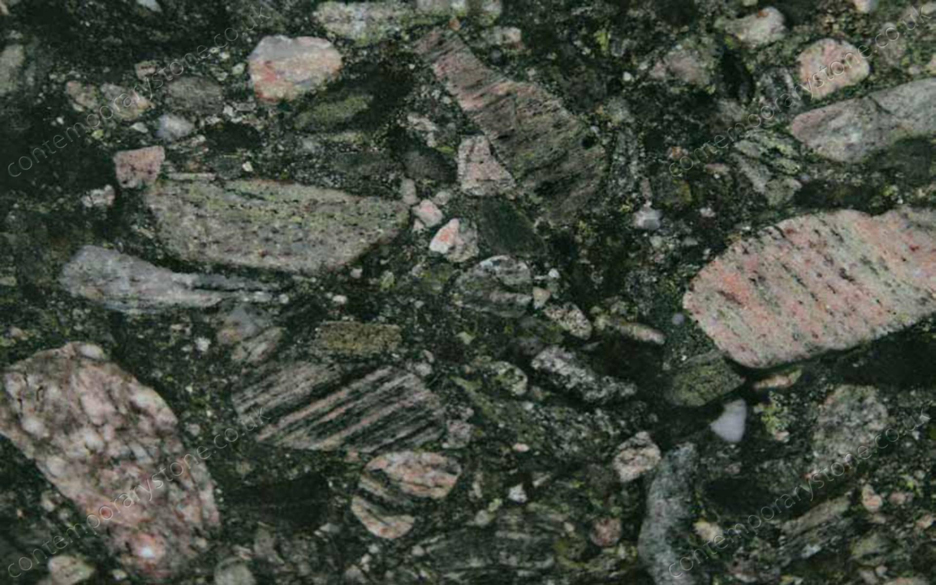 Marinace Verde granite close-up