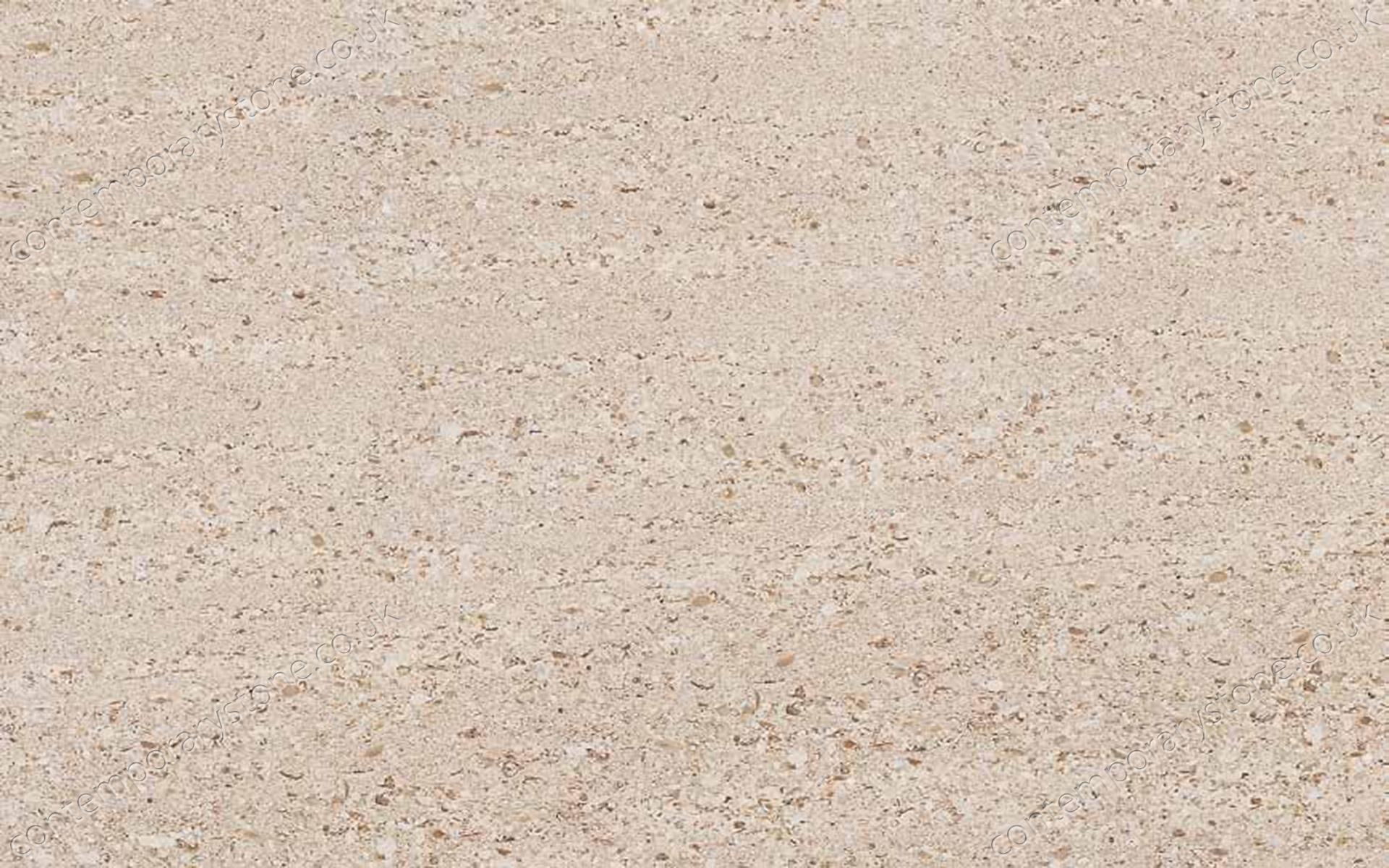 Moca Creme limestone close-up