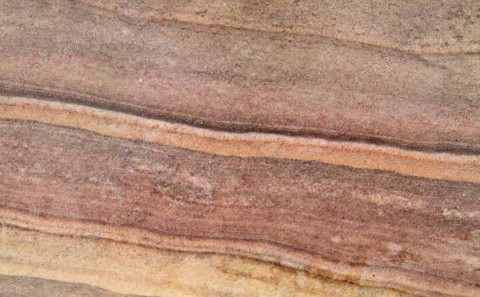 Rainbow limestone close-up
