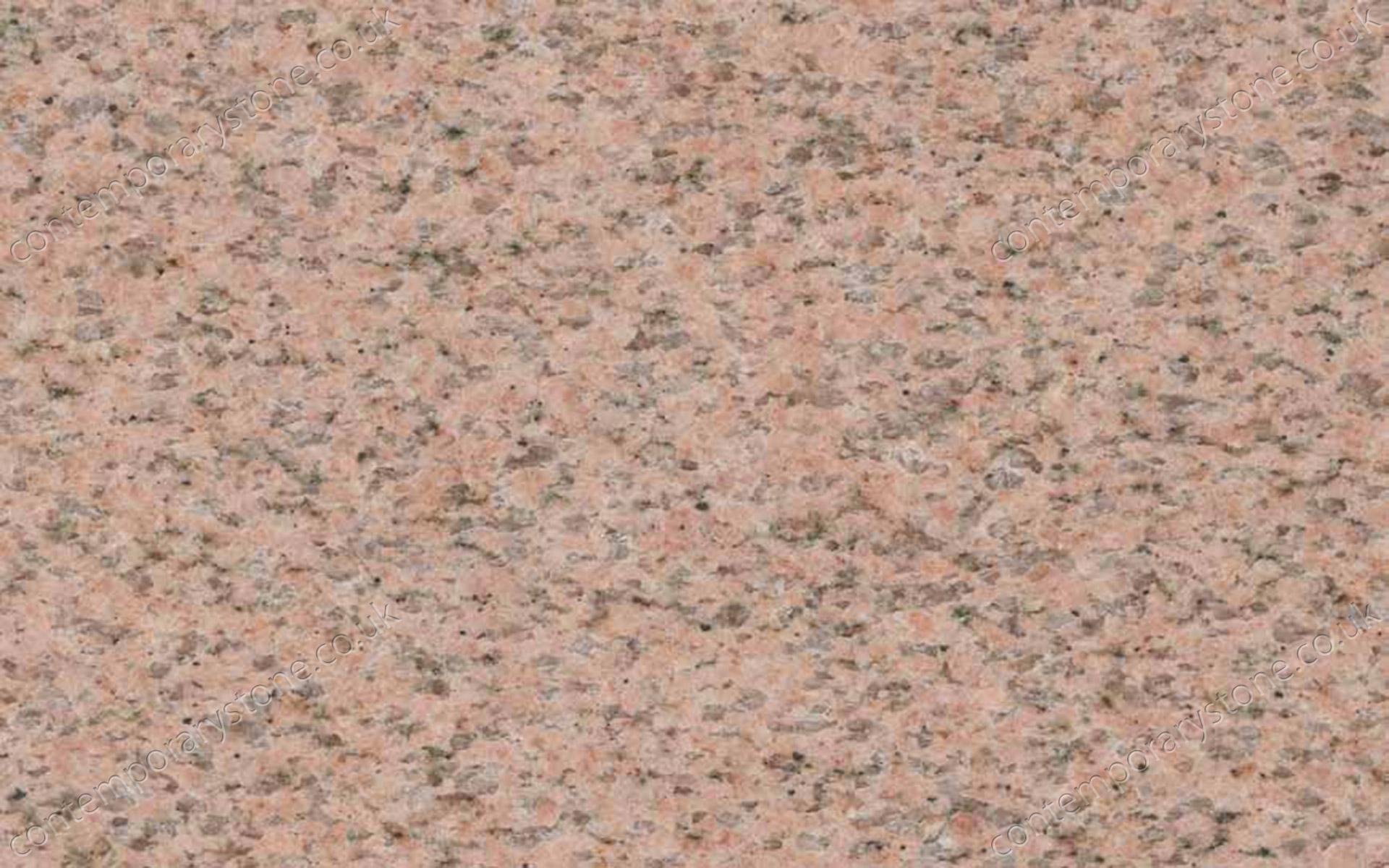 Salisbury Pink granite close-up