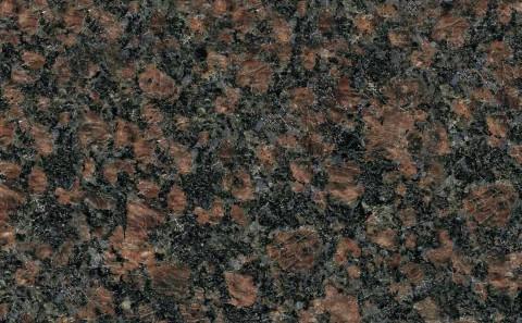 Sapphire Brown granite close-up
