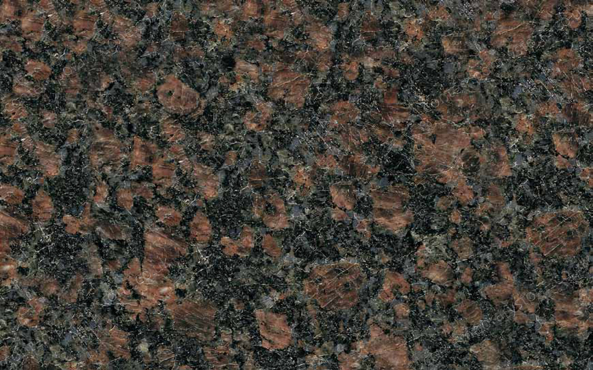 Sapphire Brown granite close-up