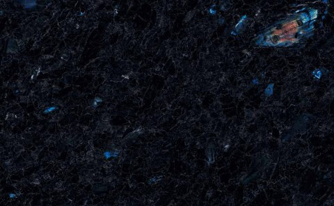 Spectrolite granite close-up