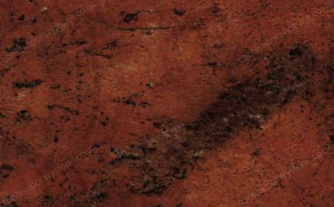 Sunset Red granite close-up