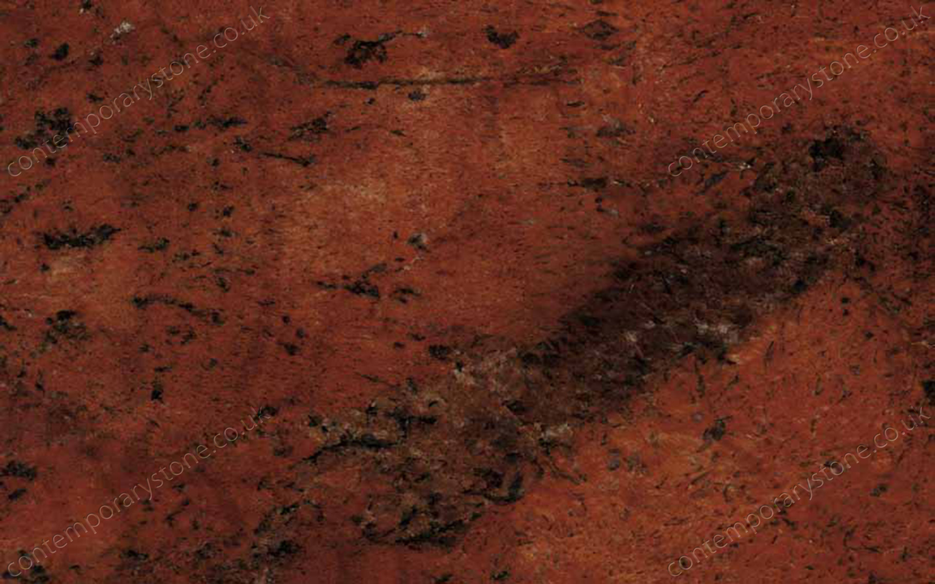 Sunset Red Granite : Sunset red