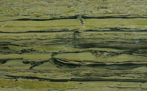 Verde Bamboo granite close-up