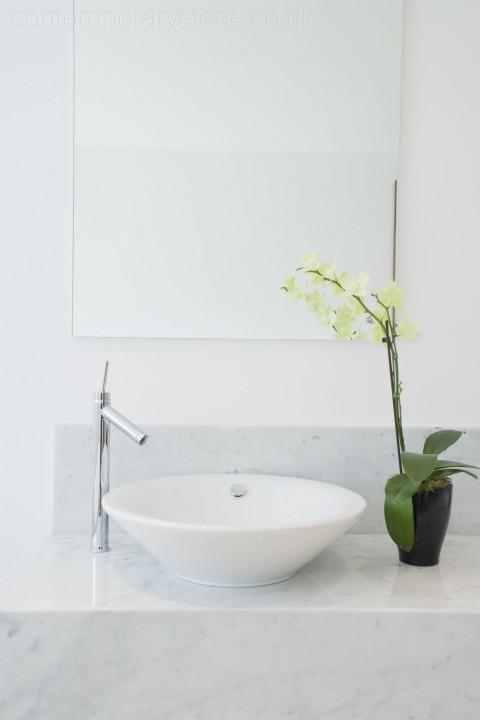 stone bathroom counter-top sink limestone vanity