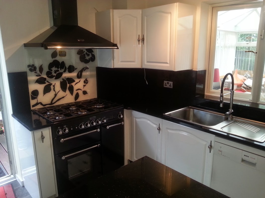 overview of granite kitchen worktops